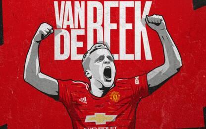 """Van de Beek è dello United: """"Volevo nuova sfida"""""""