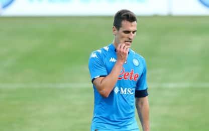 Spurs sull'ex Napoli Vinicius: Milik si allontana