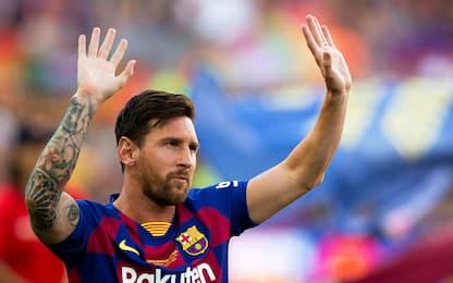 Miglior fantasista del decennio, vince Messi