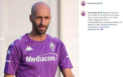 """Borja ufficiale alla Fiorentina: """"Torno a casa"""""""
