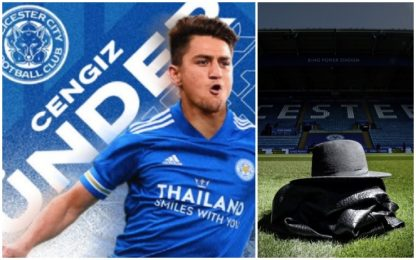 Il Leicester ufficializza Under: 26 mln alla Roma