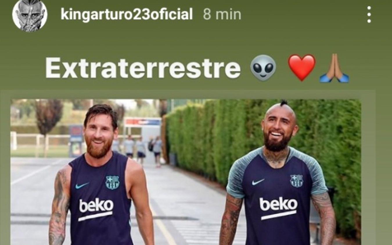 Instagram @kingarturo23oficial