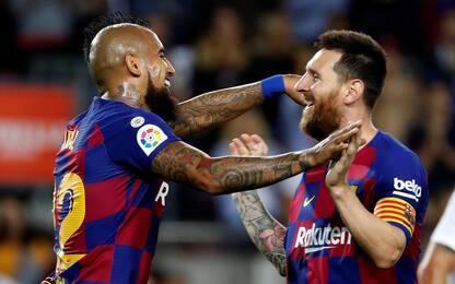 "Messi saluta Vidal: ""Torneremo a incrociarci"""