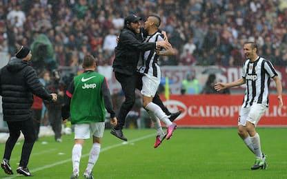 Vidal ritrova Conte, con lui numeri da top player