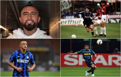 Non solo Arturo Vidal: tutti i cileni dell'Inter