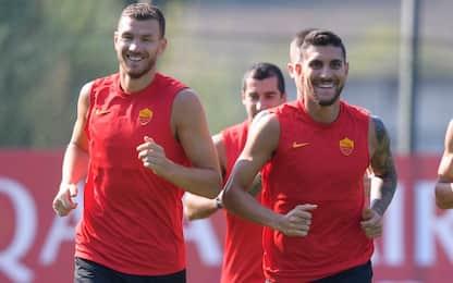 Dzeko resta alla Roma: con la Juve sarà titolare
