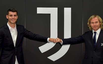 """Morata ufficiale alla Juve: """"Bentornato, Alvaro!"""""""