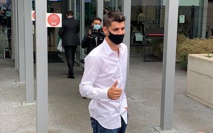 Morata-day per la Juve: esami finiti, ora la firma