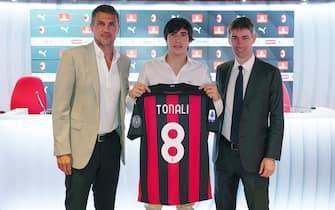 Serie A - AC Milan, Conferenza Stampa Sandro Tonali