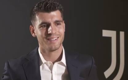 """Morata: """"Juve una famiglia, non potevo dire no"""""""