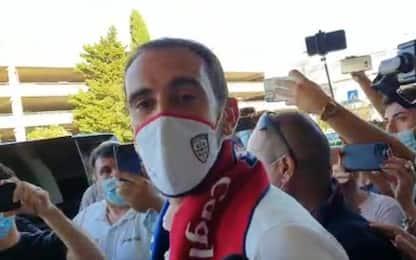 """Godin al Cagliari: """"Inter, grazie per l'affetto"""""""