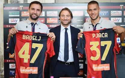 """Badelj e Pjaca: """"Al Genoa per fare grandi cose"""""""