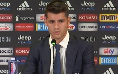 """Morata: """"Bello tornare, Pirlo mi ha impressionato"""""""