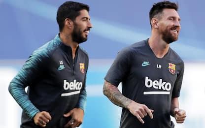 """Suarez: """"Via dal Barça per mio rapporto con Messi"""""""