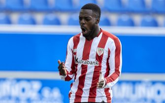 Inaki Williams of Athletic Club during the La Liga match between Deportivo Alaves v Athletic Club played at Mendizorroza  Stadium on October 4, 2020 in Vitoria, Spain. (Photo by Ion Alcoba/PRESSINPHOTO)