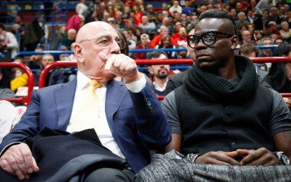"Galliani: ""Mario, questa è la tua ultima chance"""