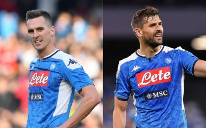 Milik tiene in stallo il Napoli, Juve su Llorente