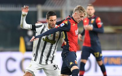 Morata e CR7 sì, Dybala no: probabili Juve-Genoa