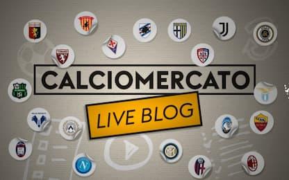 Calciomercato, tutte le trattative in diretta