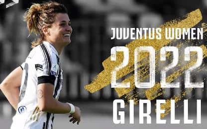 Juventus, ufficiale il rinnovo di Girelli