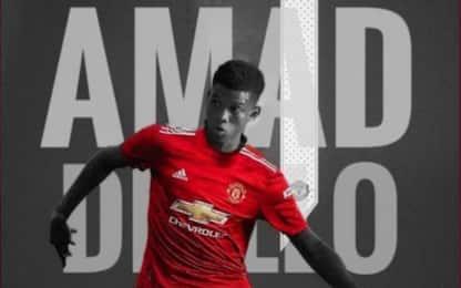 Manchester United, ufficiale l'acquisto di Diallo