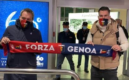 Genoa accoglie Strootman, l'olandese è in Italia