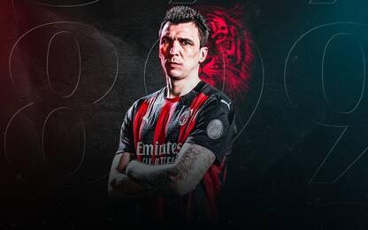 Mandzukic ufficiale al Milan: prende la numero 9