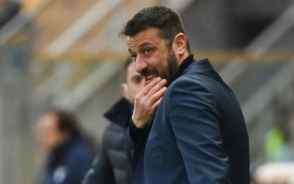 "D'Aversa: ""Timidi e rinunciatari, gara buttata"""