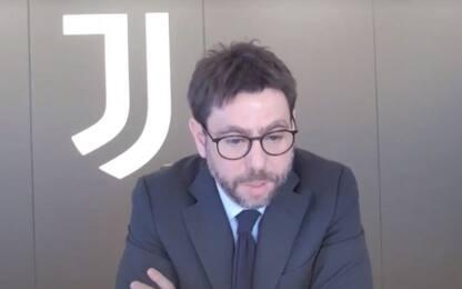 """Agnelli: """"Innovare, calcio naviga in mari mossi"""""""