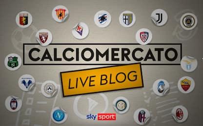 Calciomercato, tutte le trattative in tempo reale