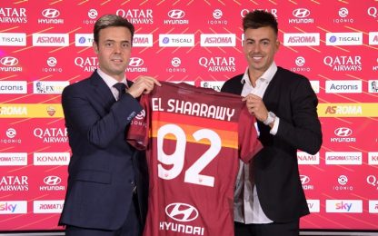 "El Shaarawy ufficiale alla Roma: ""Me sei mancata!"""