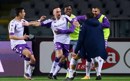 """Ribery: """"Resto in viola? Bisogna chiedere al club"""""""
