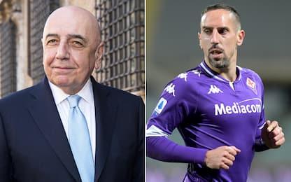 """Galliani: """"Ribery al Monza? Prima la Serie A..."""""""