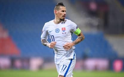 Hamsik torna a casa: accordo vicino con lo Slovan