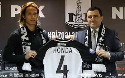 Honda riparte dall'Azerbaigian: firma col Neftchi
