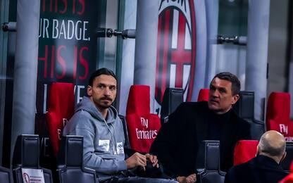"""Maldini: """"Vicini al rinnovo di Ibrahimovic"""""""