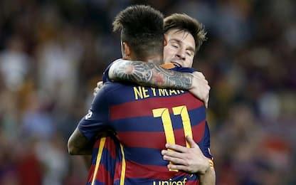 Dall'Equipe: Messi resta al Barça ma vuole Neymar