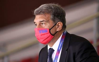 """Barça, Laporta: """"Haaland? Faremo il possibile"""""""