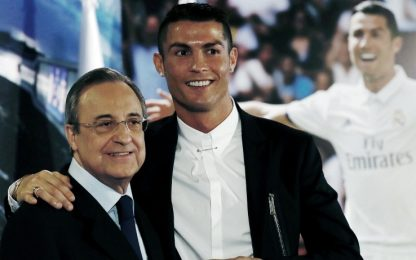 """Perez: """"Ronaldo non tornerà, non avrebbe senso"""""""