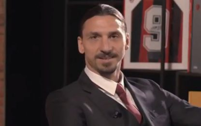 "Ibra: ""Se posso, resto per tutta la vita"". VIDEO"