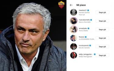 mourinho_roma_like_zaniolo_santon_instagram