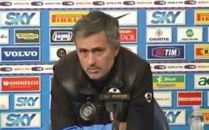 """Quando Mourinho esaltava e """"pungeva"""" la Roma"""