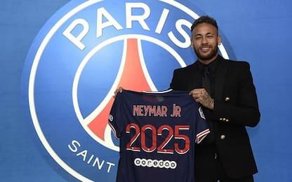Neymar rinnova con il Psg, contratto fino al 2025
