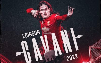 Cavani rinnova con lo United: firma fino al 2022