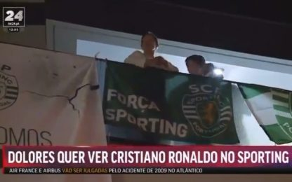 CR7-Sporting, la promessa della mamma ai tifosi