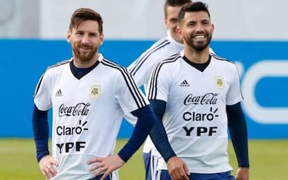 Kun e il Barça più vicini: mossa per tenere Messi
