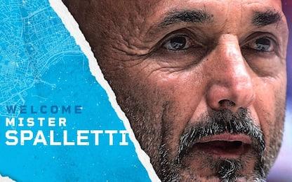 Luciano Spalletti è il nuovo allenatore del Napoli