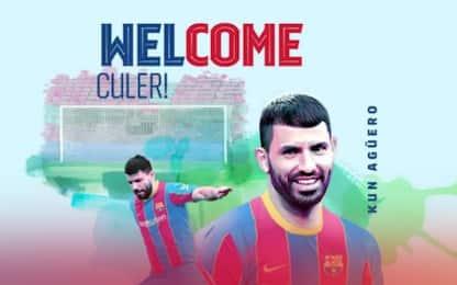 Aguero al Barça ufficiale: clausola da 100 milioni