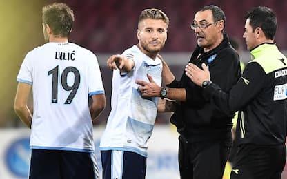 Lazio-Sarri, arriva il 4° all time per media punti