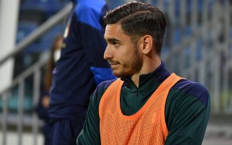 Alex Meret of Italy during Friendly match - Italy vs San Marino, friendly football match in Cagliari, Italy, May 28 2021